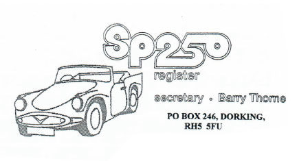 The SP250 Register